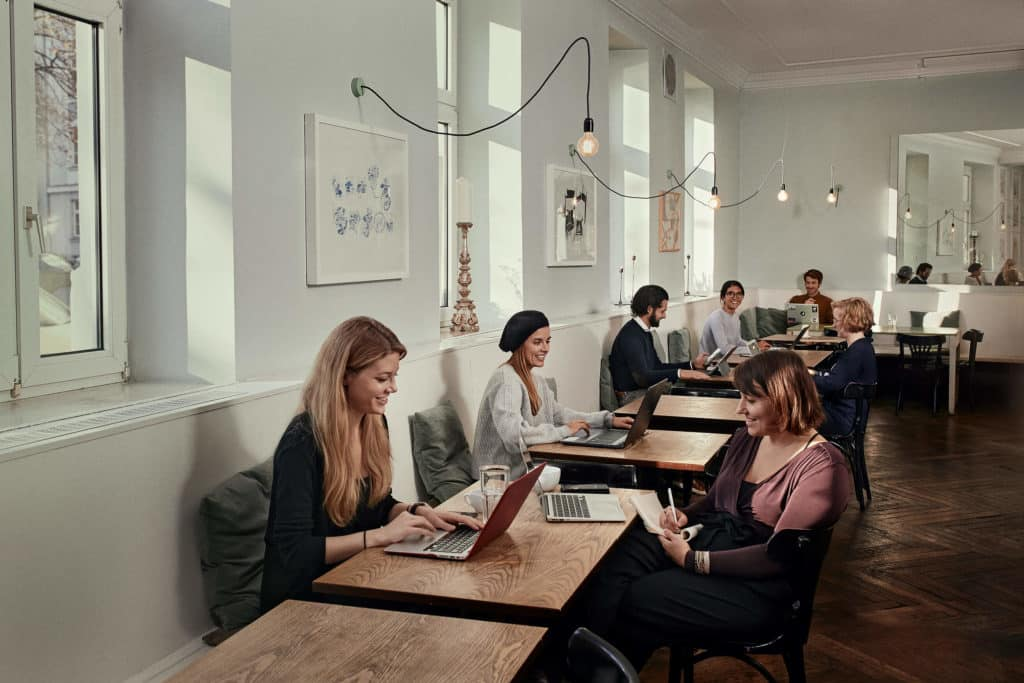 twostay Coworking Space Munich for freelancer and remote workers